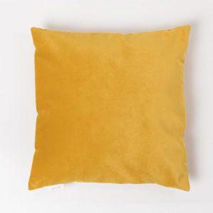 Cup Of Tea žametna blazina zlata zadrga rumena