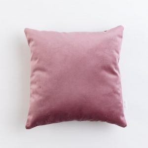 Cup Of Tea Velvet Square Pillow Rose